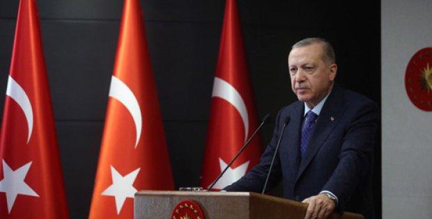 Erdoğan, Cumhurbaşkanlığı Kabinesi Toplantısı'nın ardından yaptığı açıklamada,