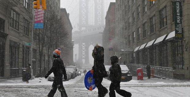ABD'deki sert kış hayatı olumsuz etkiliyor: 58 ölü