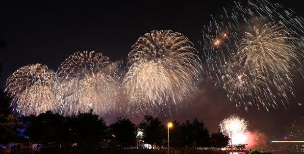 ABD'nin 245. Bağımsızlık Günü kutlandı