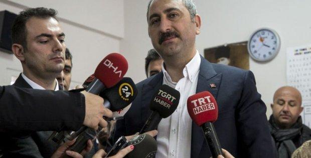 Adalet Bakanı Abdulhamit Gül'den açıklama..