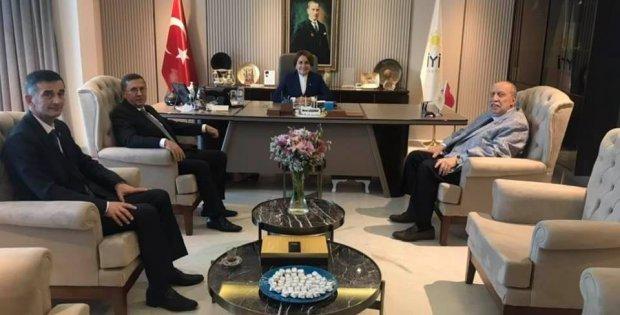 alışma ve Sosyal Güvenlik eski Bakanı Yaşar Okuyan'dan  partilere ziyaret.