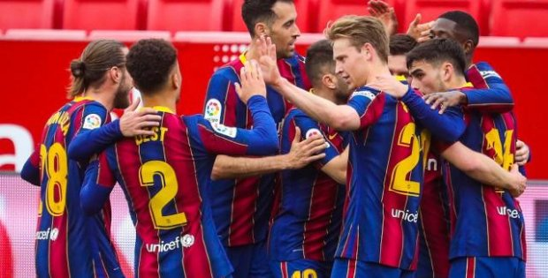 Barcelona deplasmanda galip