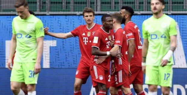Bayern Münih üç puanı ilk yarıda aldı