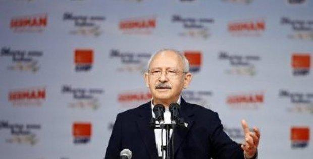 CHP lideri Kemal Kılıçdaroğlu partisinin Abant kampında ...