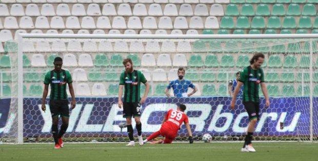 Denizlispor Süper Lig'e veda etti