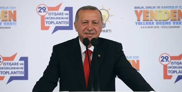 Erdoğan, 29. İstişare ve Değerlendirme Toplantımızın açılışında konuştu