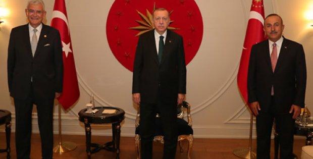Erdoğan, BM 75. Genel Kurul Başkanlığı'na seçilen Bozkır'ı tebrik etti