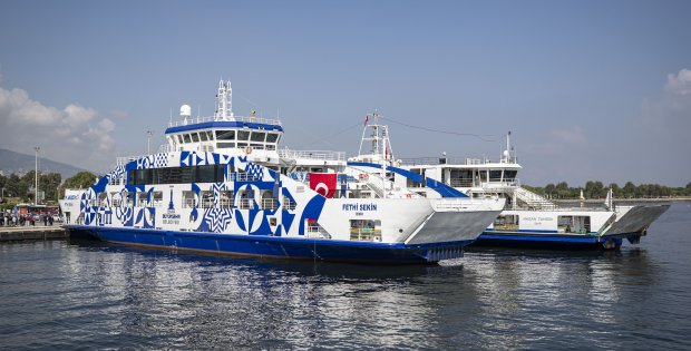İZDENİZ'de yeni düzen feribot kullanımını artırdı