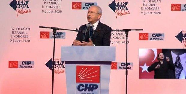 Kılıçdaroğlu, İstanbul İl Kongresi'nde konuştu...